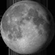 Уменьшение gibbous луна